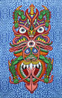 3-D TAPESTRY-BOOGIE MAN-100% COTTON-60X90-3D GLASSES INCLUDED AWESOME