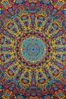 3D TAPESTRY-SUNBURST-Psychedelic-FREE GLASSES 60X90