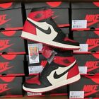 2018 Nike Air Jordan 1 Bred Toe Black Red OG 555088-610 lot New Size: 4Y-14 <br/> IN STOCK &amp; READY TO SHIP!!! FASTEST FREE SHIPPING!!!!!!