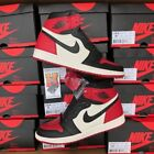 2018 Nike Air Jordan 1 Bred Toe Black Red OG 555088-610 lot New Size: 3.5Y-14 <br/> IN STOCK &amp; READY TO SHIP!!! FASTEST FREE SHIPPING!!!!!!