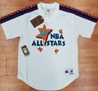 Authentic Mitchell & Ness White 1995 West NBA All-Star Mesh V-neck Jersey