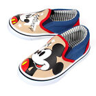 Disney Mickey Mouse Boys Slip-on Shoes. Casual Kids Shoes. Navy