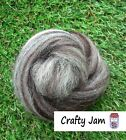Needle-Wet Felting Natural Wool  Roving 20-100 g Ideal for Animal Projects