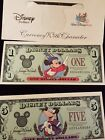 Disney Dollars 25th Anniversary (1997) RARE ITEM Mickey & Goofy