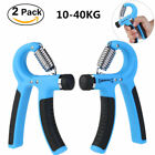 2Pack Strength Exercise Hand Grippers Grip Forearm Wrist Adjustable Strengthener image