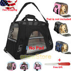 Pet Carrier Soft Sided Cat/Dog Comfort Travel Bag Oxford Airline Approved USA