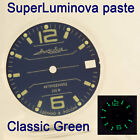 WATCHES-PARTS: HAND PAINTED SUPERLUMIA  696 DIAL VOSTOK AMPHIBIA 3 KINDS OF LUME image