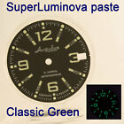 WATCHES-PARTS: HAND PAINTED SUPERLUMIA  315 DIAL VOSTOK AMPHIBIA 3 KINDS OF LUME image