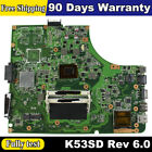 K53SD For Asus Latop Motherboard fit A53E K53E i3-2310M MainBoard 90R-N3CMB1700Y