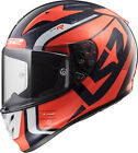 LS2 FF323 ARROW C EVO STING ORANGE FULL FACE MOTORCYCLE RACE SPEC HELMET