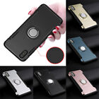 Unisex Fashion Phone Protective Cover Case Skin with Ring for i Phone Full Wrap