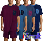 i-Smalls Men's Soft Cotton Summer Short Pyjama Set with Black Eye Mask