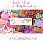 Genuine Colourpop Pressed Powder Shadow Palette Eyeshadow Imported from USA