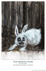 THE HERETIC HARE : ARTIST SERIES 11 x 17 Print by KAREN CARTER - FIRST PRINTING