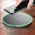 Qi Wireless Charger Charging Pad fr i Phone XS/Max/XR/8/Plus Galaxy Note 9/S9/S8