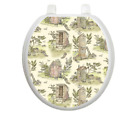 Toilet Seat Cover, Decal Bathroom Accessories, Durable, Easy Install, Outhouse