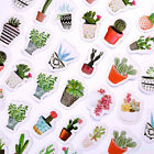 45Pcs Cactus Paper Craft Sticker Paste Stickers DIY Kid Handmade Craft Toy Gift