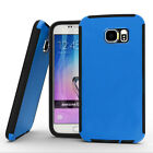 For HTC One M9 Full Body Built-In Screen Protector Hybrid Rugged Slim Case Cover