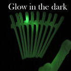 "Hen Party Glow in the Dark Willy Straws 7½"" Girls Naughty Nights Drinking Straws"