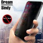 Premium Privacy Anti-Spy Tempered Glass Screen Protector for iPhone X 8 7 6 Plus