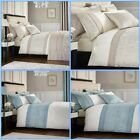 Catherine Lansfield Ornate Jacquard Duvet Cover Bedding Set + Accessories