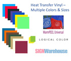 Logical Color WarmPeel Universal Heat Transfer Vinyl, T-Shirt Crafts Graphics
