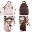 NWT Michael Kors ABBEY Leather/PVC XS Mini Crossbody Backpack in Various Colors