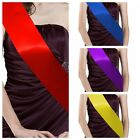 "For ""HEN PARTY"" DIY 1pc Satin Ribbon Cheap Basic Plain Blank Sashes/Strap"