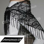 sale! HAND MADE BELLY DANCE BELTS HIP SCARF WITH TASSEL 666