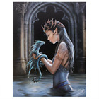 Lisa Parker Anne Stokes Gothic Canvas Plaque Art Print Wall Hanging Fantasy Gift