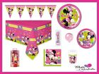 Kit Festa 24 Bambini Minnie Happy Helpers Compleanno Bambina Party