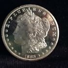 1883 CC MORGAN SIVER DOLLAR INSANE DMPL 30+ INCH MIRRORS MS++++++ SCARCE HIGH$$$