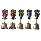 Springy Shopkeepers Bell Entrance Alert Chime Unique Owl Design Doorbell B-Type