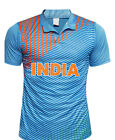 Indian Cricket T Shirt Jersey Cap T20 Worldcup - Love India
