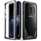 For Samsung Galaxy S9 / S9 Plus /Note 8 Poetic Guardian Clear Hybrid Bumper Case <br/> 360 Degree Protection with Built-in-Screen Protector