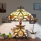 Cloud Mountain Victorian Stained Glass Table Lamp