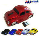 2.4GHz Wireless VW Beetle Car Optical Mouse Wheel Mice USB Receiver Gift 1600DPI