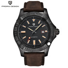 PAGANI DESIGN Classic New Men Mechanical Watches Genuine Leather Automatic Watch
