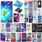 For Samsung Galaxy J7 J5 2017 Universal Pattern Leather Wallet Case Cover Gifts