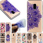 Slim Clear Soft Silicone TPU Rubber Gel Back Case Cover For Samsung A8 2018 S9