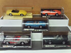 Corvete Mustang Convertible Collection Diecast Model cars Very Nice