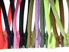 Spiral Coil Zips Nylon Open Ended ( separable)/ No 5.Choice of Colours &Lengths