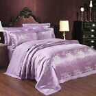 FenDie European Duvet Cover Set for Teens Adults, Silky Cotton Duvet Cover with