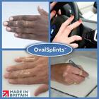 OVAL FINGER SPLINT SIZE 0.5 - 16 RING SIZE FOR MALLET, TRIGGER FINGER, SWAN NECK
