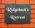 PERSONALISED HOUSE NAME SIGN PLAQUE