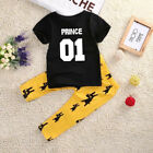 Kids Baby Boy Clothes Clothing Girls T-Shirt 01 number printed