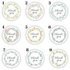 Thank You Stickers   Wreath   Circle   TY102