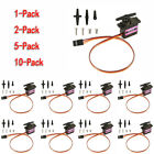 1/2/5/10-pack MG90S Micro Metal Gear 9g Servo for RC Plane Helicopter Boat Car
