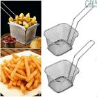 1 4 8 PCS Chips Mini Fry Basket Stainless Steel Fryer Basket French Fries Basket