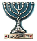 New Red metal Souvenir Fridge Magnet israel Jerusalem menorah, Menora holyland